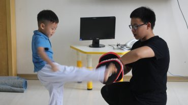 TAEKWONDO EVERY FRIDAY – MR. EDUPLAY GARDEN